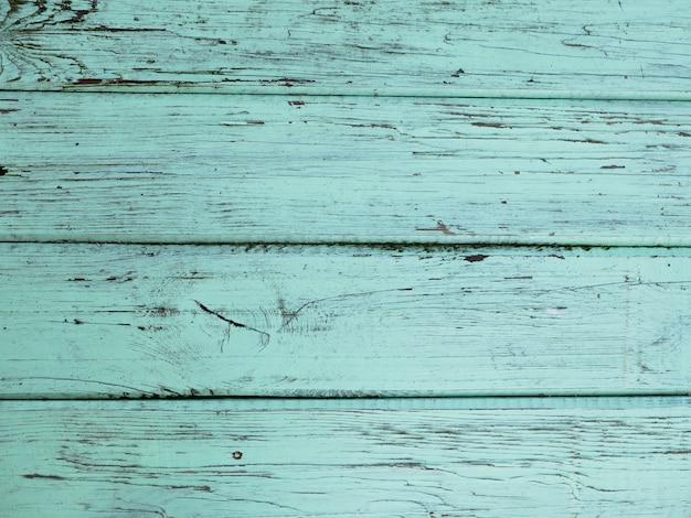 Türkisfarbener plankenholzhintergrund. große aussicht. textur für den hintergrund