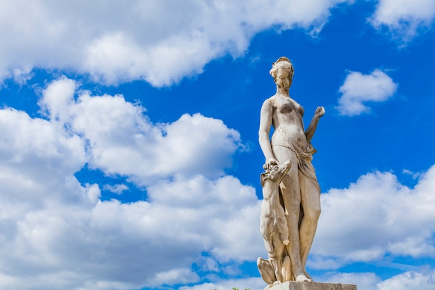 Tuileries-garten in paris