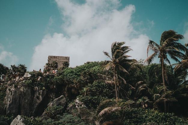Tulum ansichten vom strand