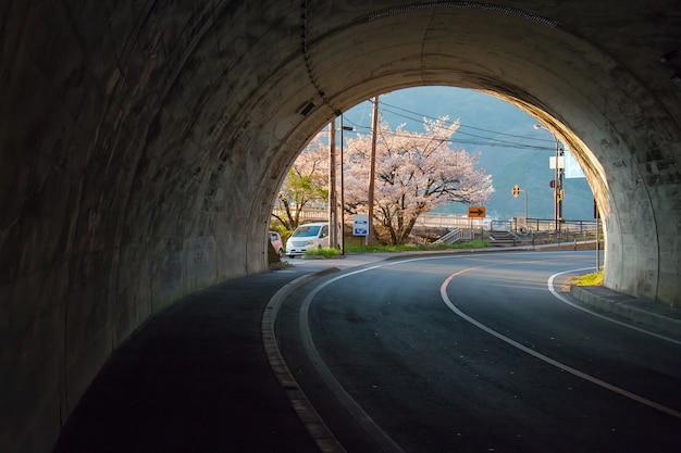Tunnel in kawagujiko