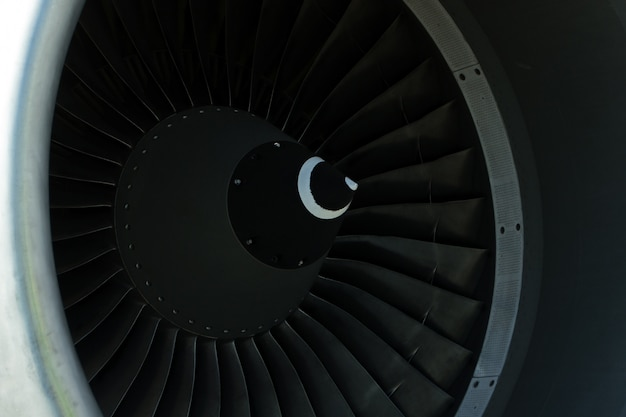 Turbine des flugzeugs