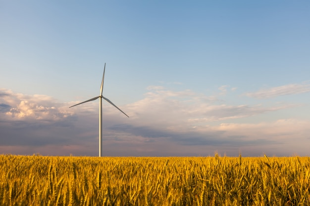 Turbine green energy electricity technology-konzept