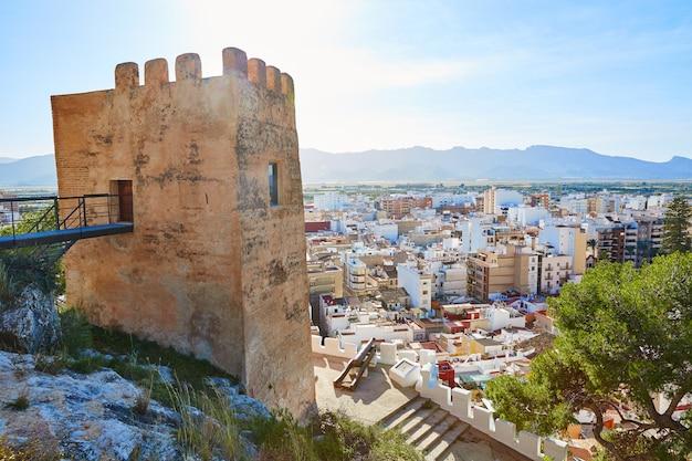 Turm cullera torre de la reina mora in valencia