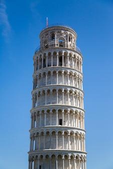 Turm von pisa in der toskana