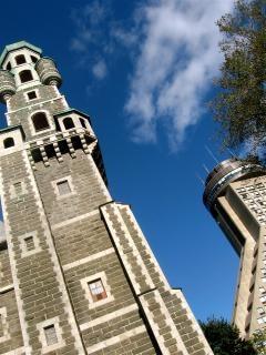 Turm wände, gebäude