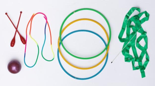 Turngeräte für rhythmische sportgymnastik