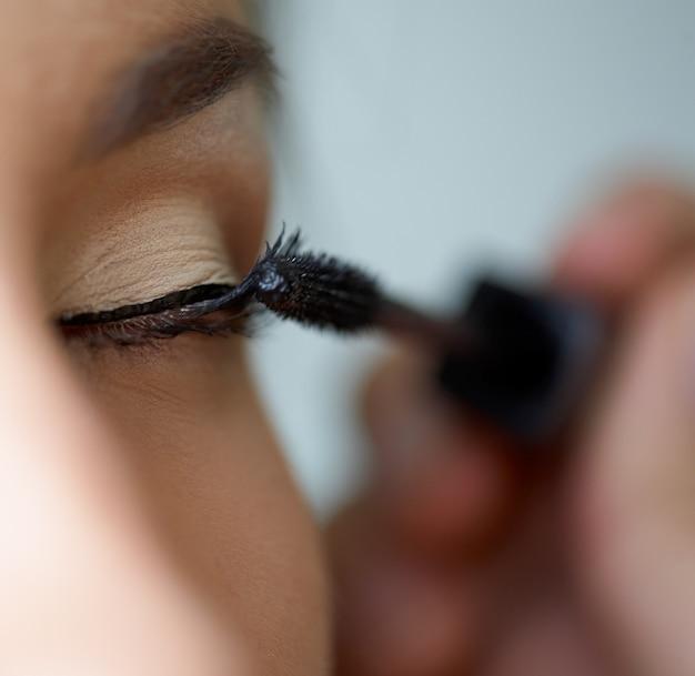 Tusche make-up