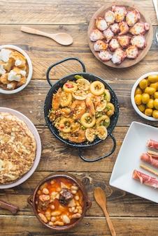 Typisch spanisches essen