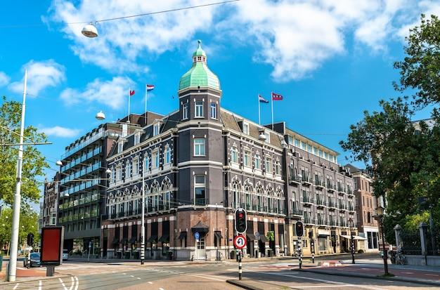Typische architektur von amsterdam in den niederlanden