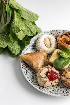 Typische marokkanische süßigkeiten. selbst gemacht