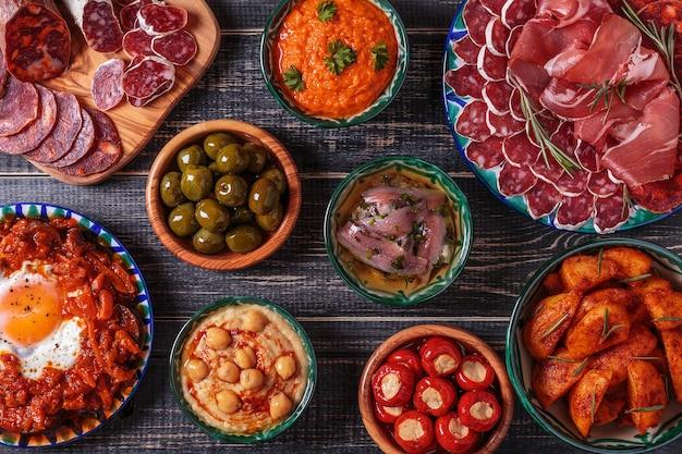 Typische spanische tapas