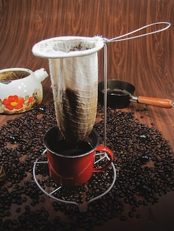 Typischer kaffee