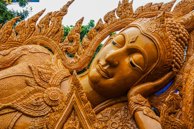 Ubon ratchathani kerzenfestival, thailand