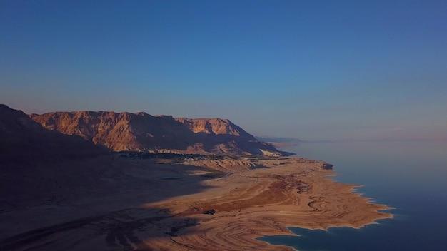 Überführung des toten meeres und der wüste in israel