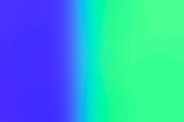 Übergang von blau zu grün