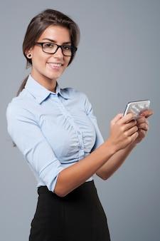 Überprüfen des plans im smartphone