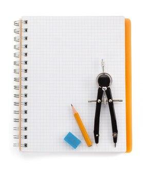 Überprüftes notebook isoliert