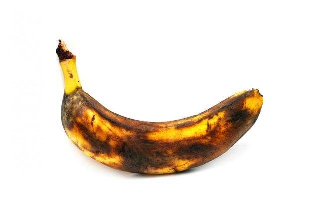 Überreife banane