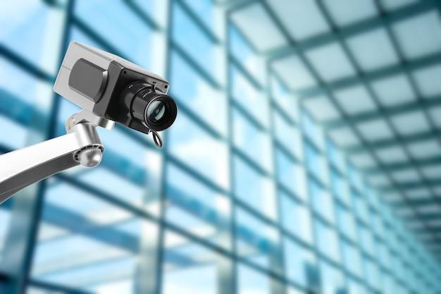 Überwachungskamera im bürogebäude