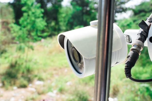 Überwachungskamera im haus.