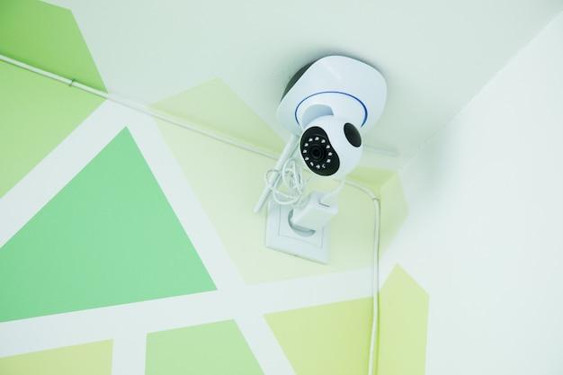 Überwachungskamera im raum