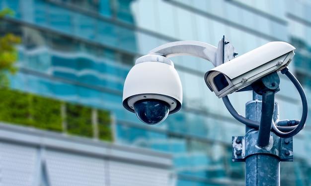Überwachungskamera und städtisches video