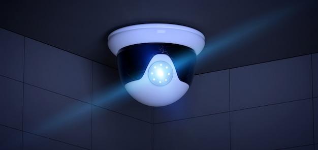 Überwachungskamerasystem - wiedergabe 3d