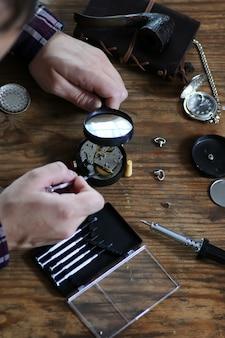 Uhr reparieren