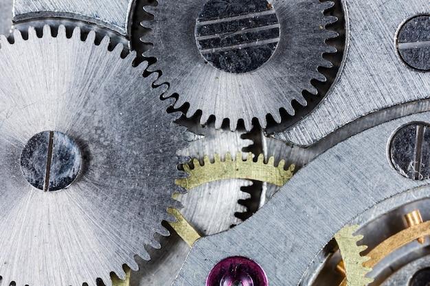Uhrwerk alte mechanische udssr uhr hohe auflösung und detailtreue