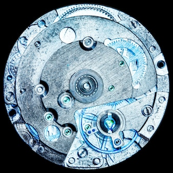 Uhrwerk alte mechanische uhr hohe auflösung und detail