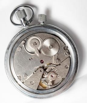 Uhrwerk alte, mechanische uhr