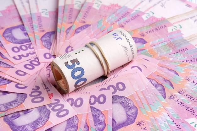 Ukrainische banknoten uah.