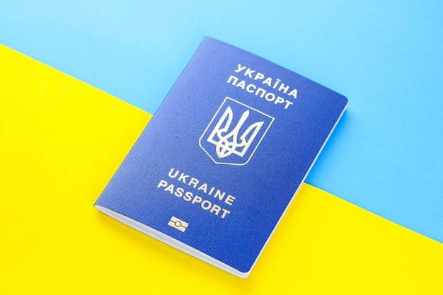 Ukrainischer biometrischer pass