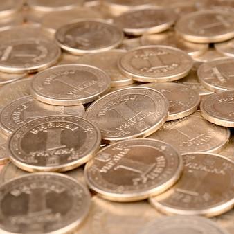 Ukrainischer geldhintergrund des finanzerfolgs für reiche lebenkonzepte