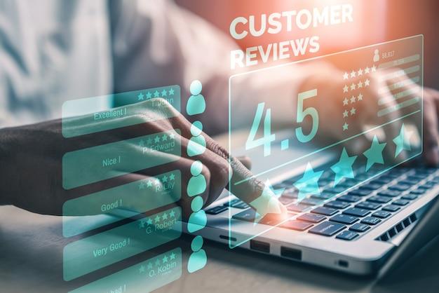 Umfragekonzept zur kundenzufriedenheits-feedback-umfrage.