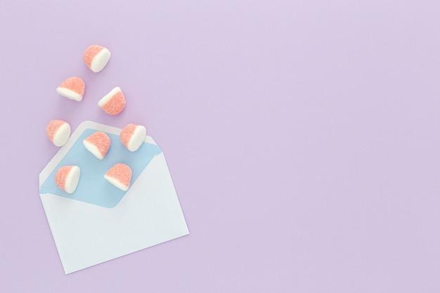 Umschlag mit gelees
