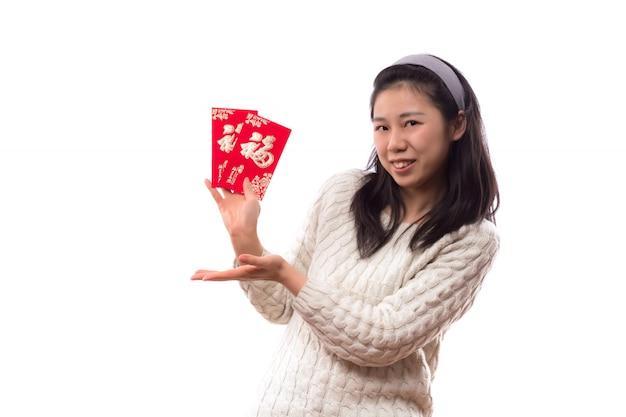 Umschlag weibliche junge menschen ausschnitt