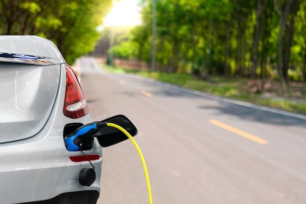 Umweltfreundliche elektroautos