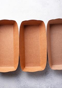 Umweltfreundliche fast-food-behälter