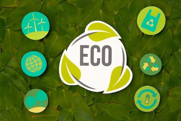 Umweltfreundliches recyclingkonzept