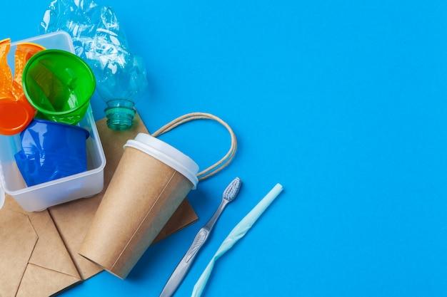 Umweltschutzkonzept - abfall vorbereitet für die wiederverwertung