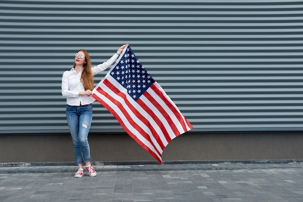 Unabhängigkeitstag und patriotisches konzept