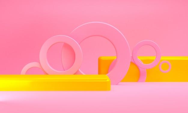 Unbedeutende abstrakte geometrische zahlen hintergrund