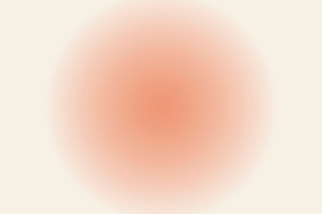 Undeutlicher pfirsichkreishintergrund im gradienten-vintage-stil