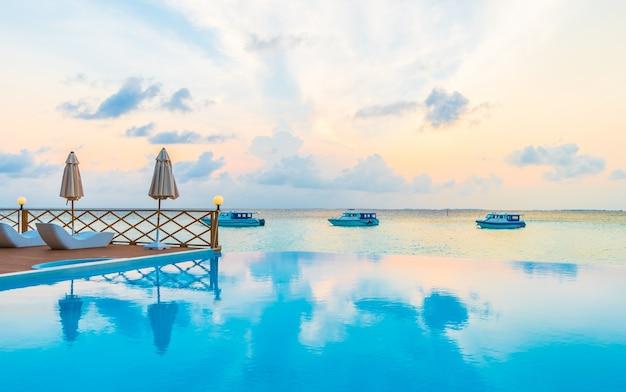 Unendlich karibik resort urlaub baum
