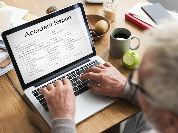 Unfallinformationsbericht gesundheit