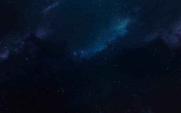 Unglaublich schöne planeten im weltraum