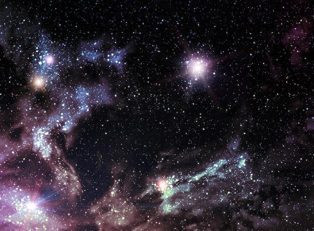 Universum hintergrund