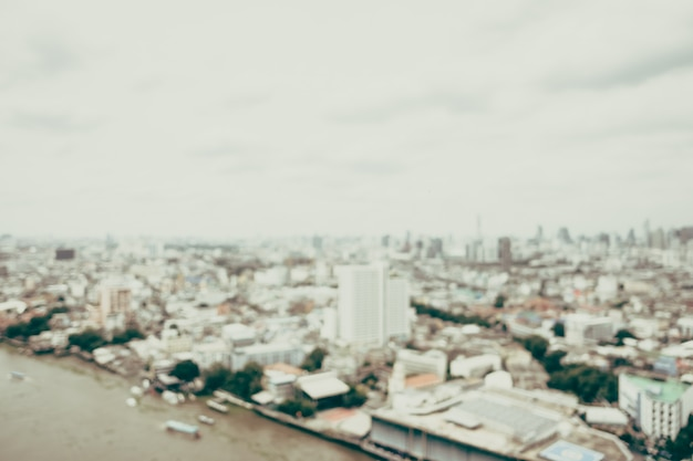 Unschärfe bangkok-stadt