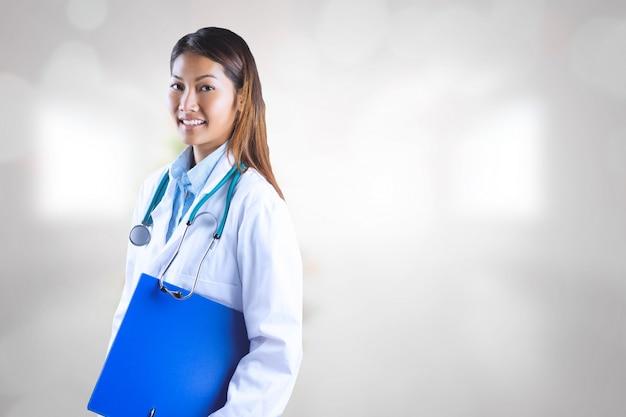 Unschärfe stethoskop unternehmen arztpraxis